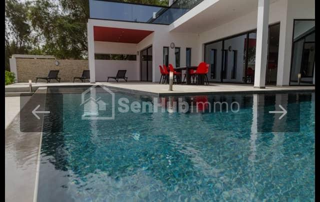 Vente Villa pied dans l'eau a Somone - SenhubImmo.com