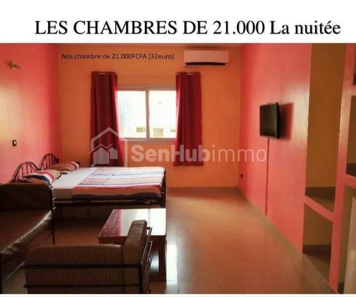 Location chambres meublées dans endroit calme et discret a 2 pas de la mer a Dakar - SenhubImmo.com