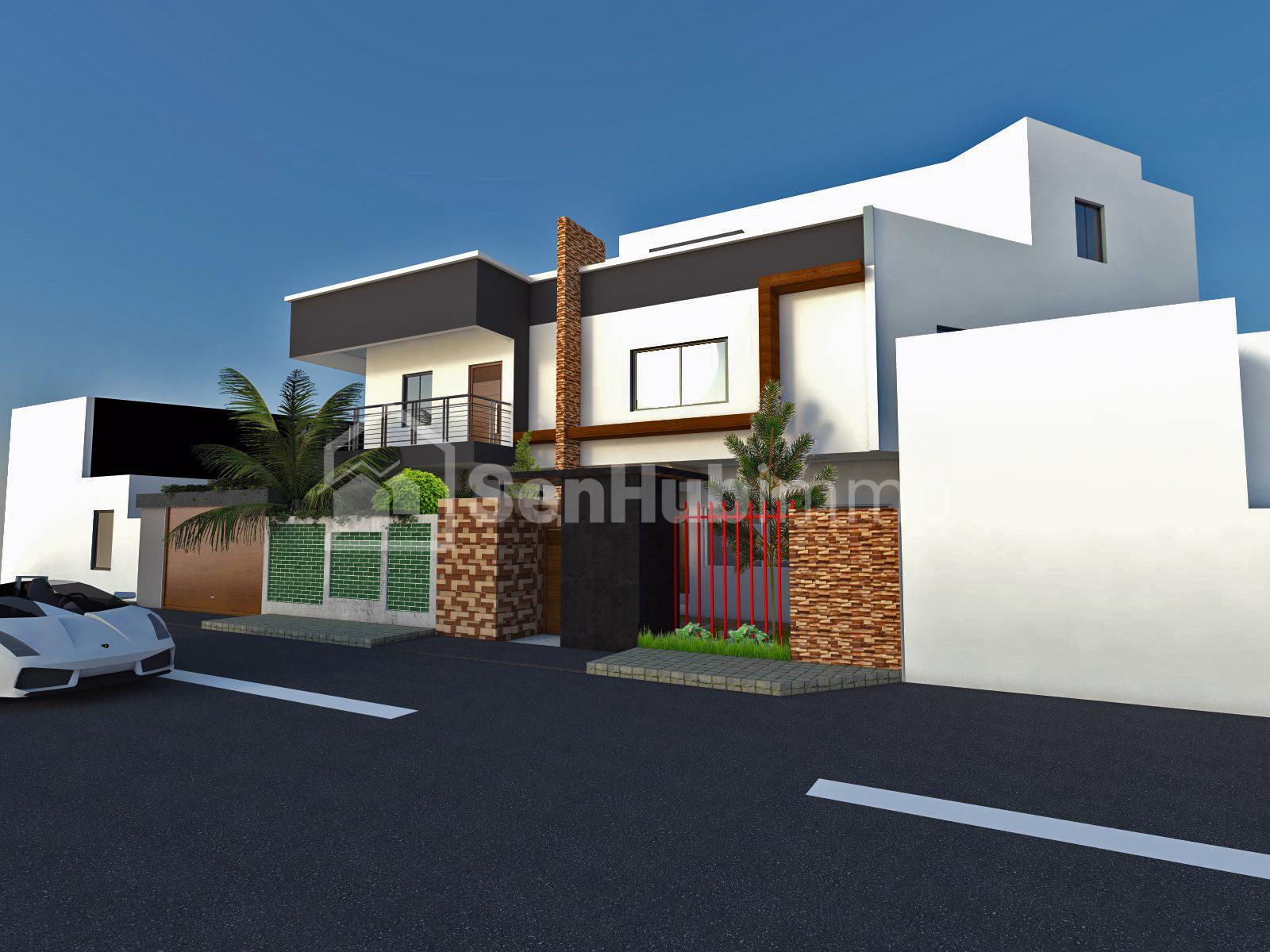 Villa à louer 8 pièces-Mermoz - SenhubImmo.com