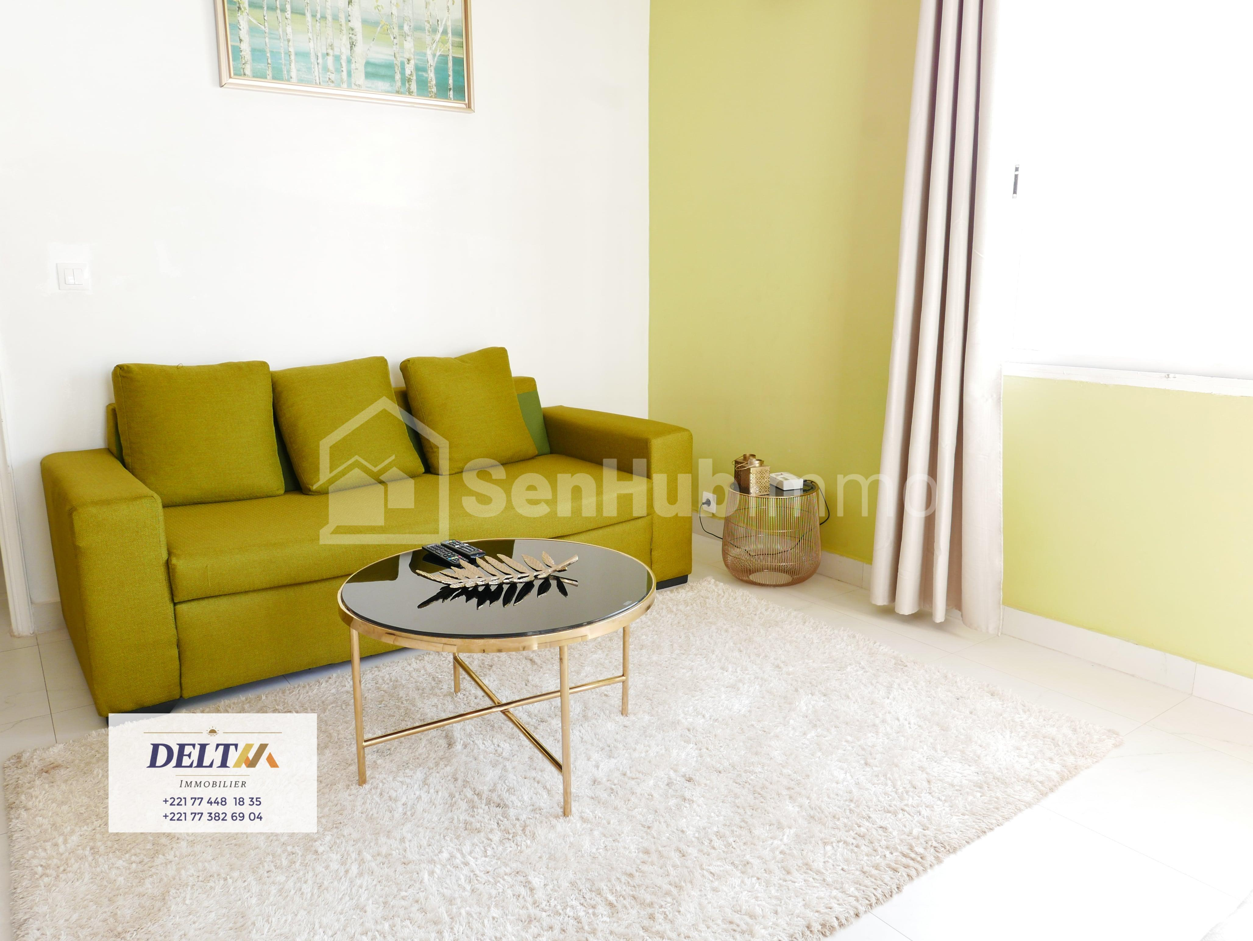 Appartement 2 chambres salon, Ngor - SenhubImmo.com