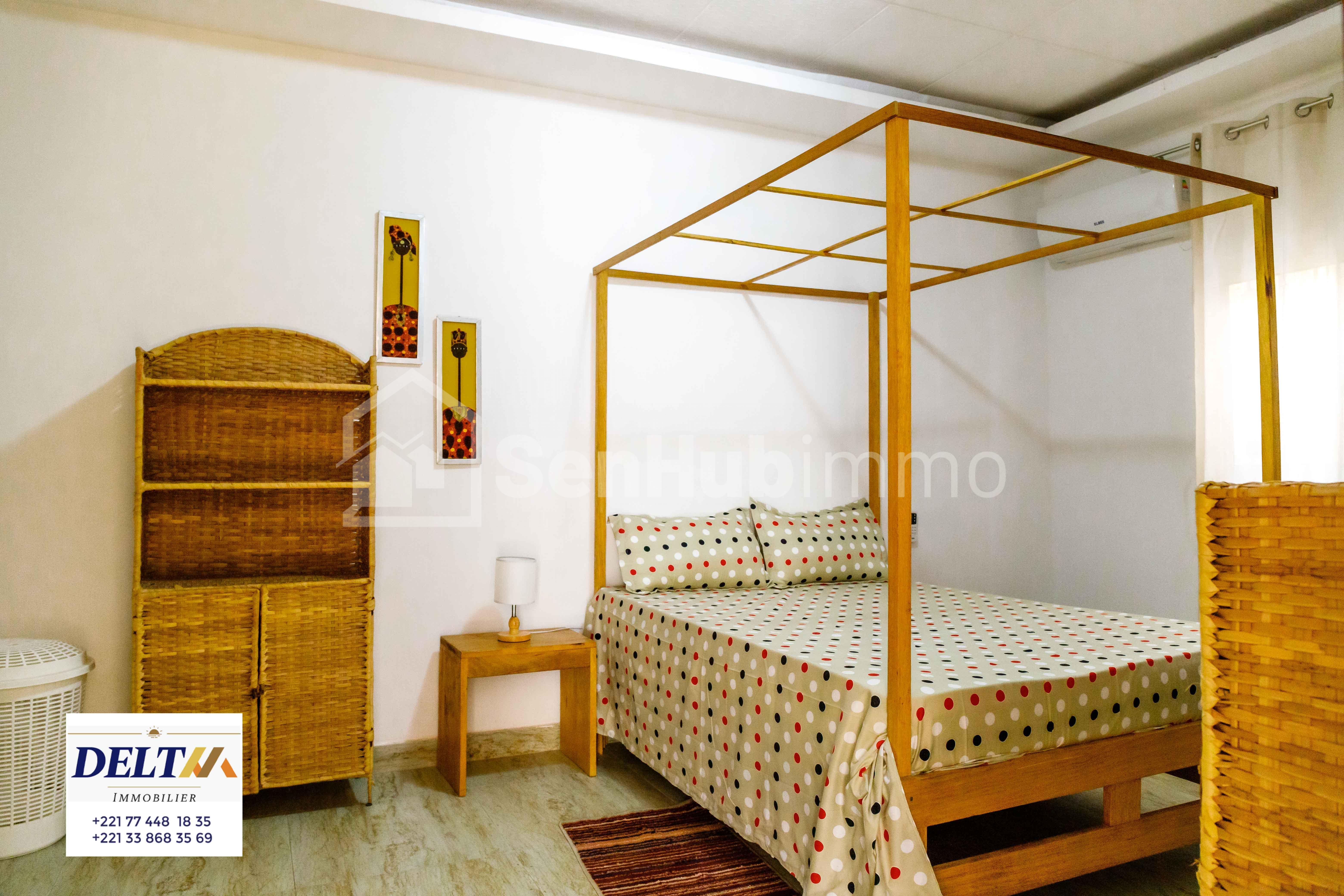 Appartement  meublé 2 CHAMBRES SALON à Sacre Coeur 1 - SenhubImmo.com