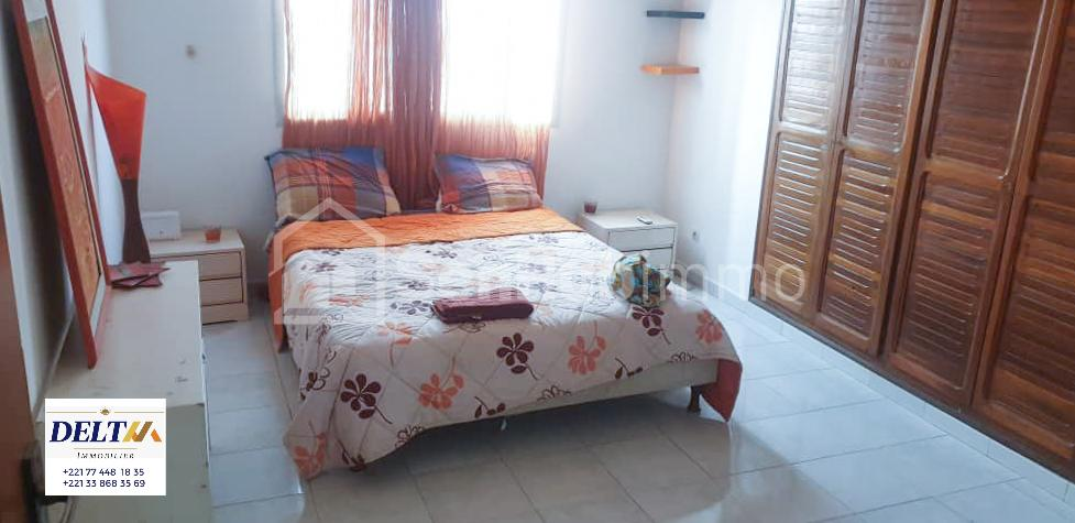 Appartement meublé 3 chambres salon à Almadies - SenhubImmo.com